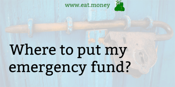 where to put my emergency fund