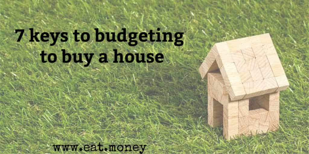 budgeting to buy a house